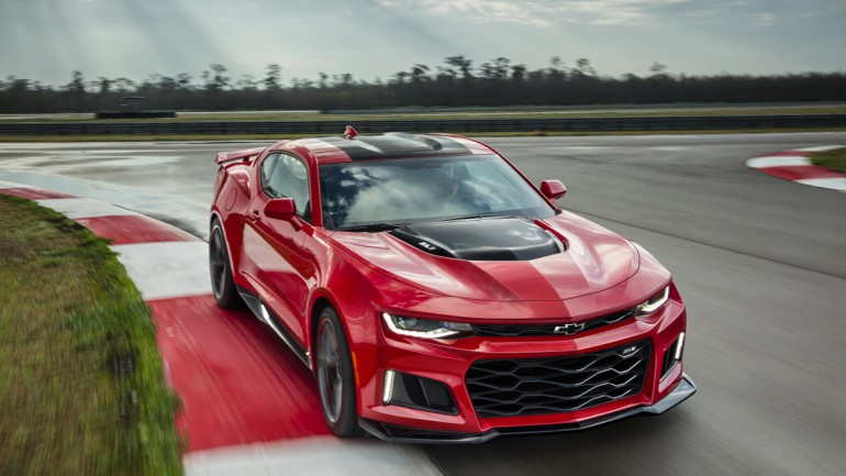 This is the 2017 Chevrolet Camaro ZL1 – In-charge and Supercharged with 640 Horsepower
