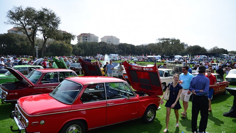 2016 Cars & Coffee at the Concours Captivates with Automotive Amazement