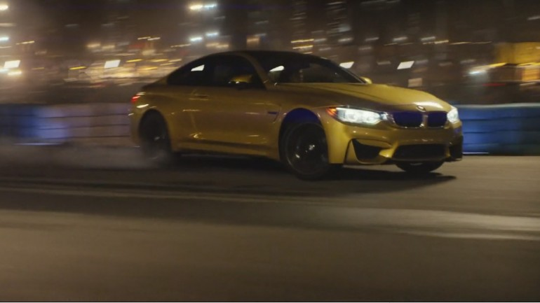 Hooning Ensues: BMW M4 Factory Trailer Video