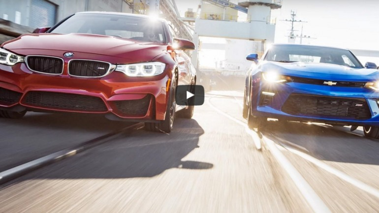 Would You Rather: 2015 BMW M4 or 2016 Chevrolet Camaro SS – Head 2 Head Video