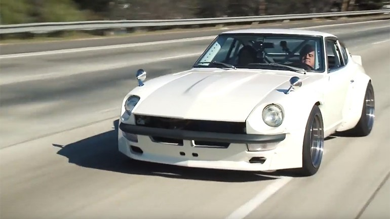 In Jay Leno's Garage: 1973 Datsun 240Z owned by Fast and Furious star Sung Kang – Video