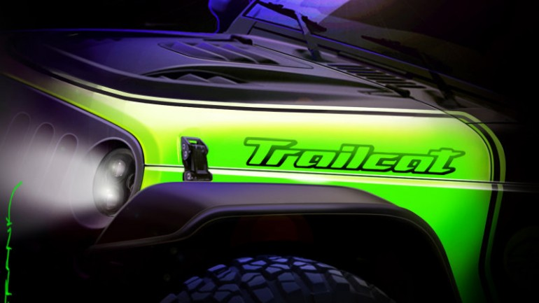 Jeep Teases Trailcat – Could Feature 707-Hellcat-Horsepower in Extreme Off-Road Wrangler Package