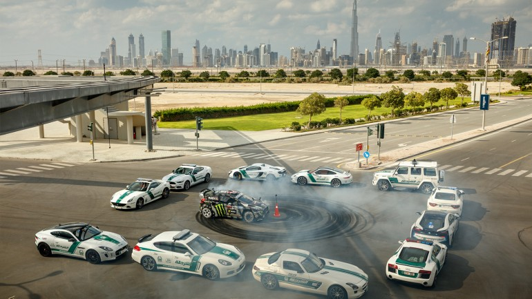 Ken Block's Gymkhana_Eight: Ultimate Exotic Playground commences in Dubai – Video