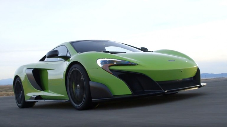 Playing with the McLaren 675LT: Video