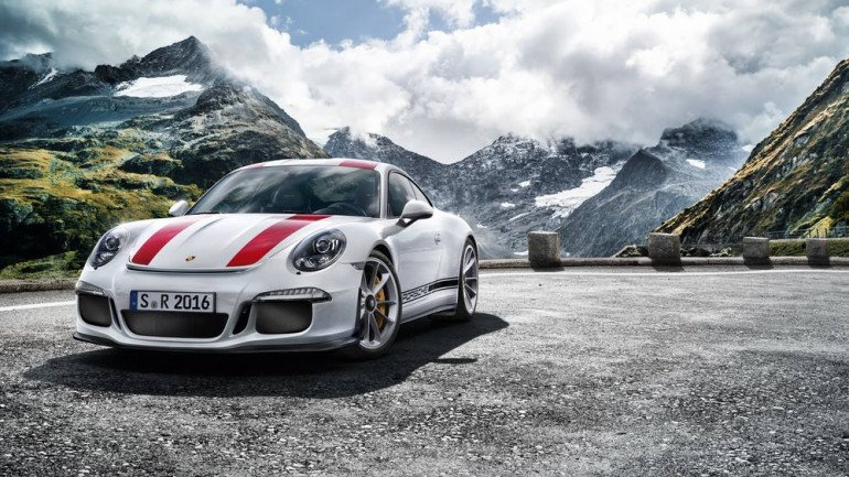 Porsche Unleashes 911 R Exclusively with NA Engine and Manual Transmission