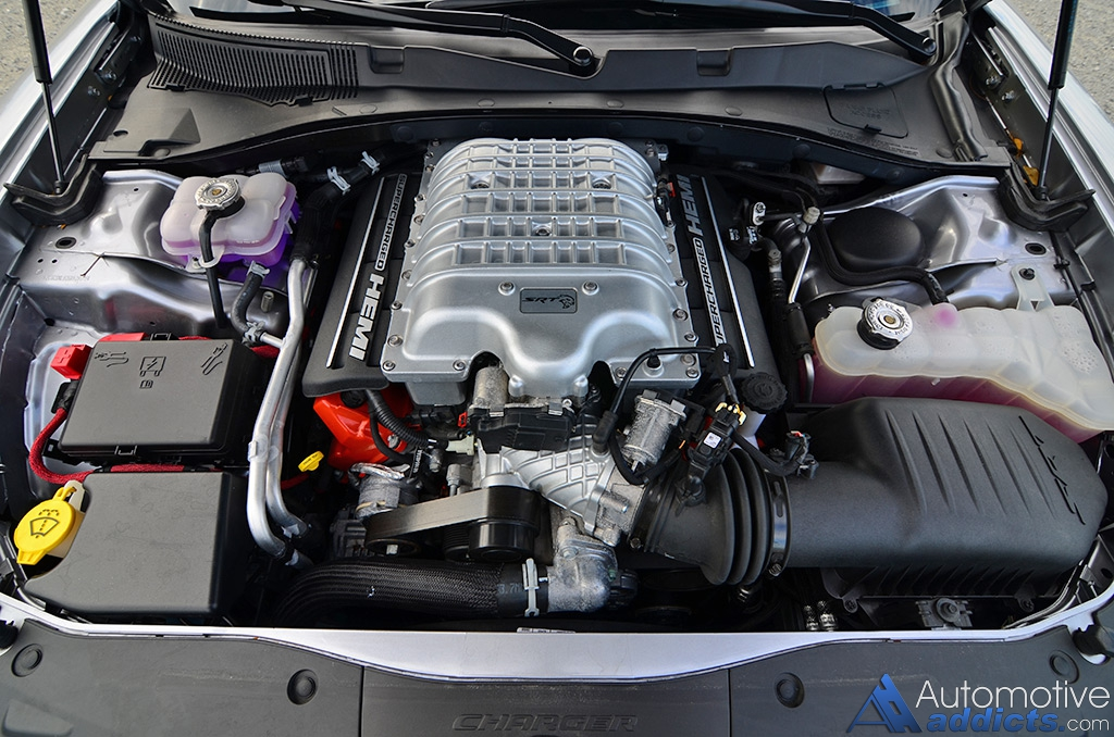 Dodge Charger Hellcat Engine