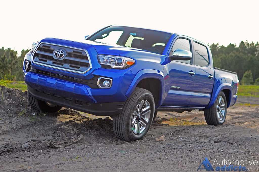 2016 toyota tacoma 4 4 limited double cab review test drive. Black Bedroom Furniture Sets. Home Design Ideas