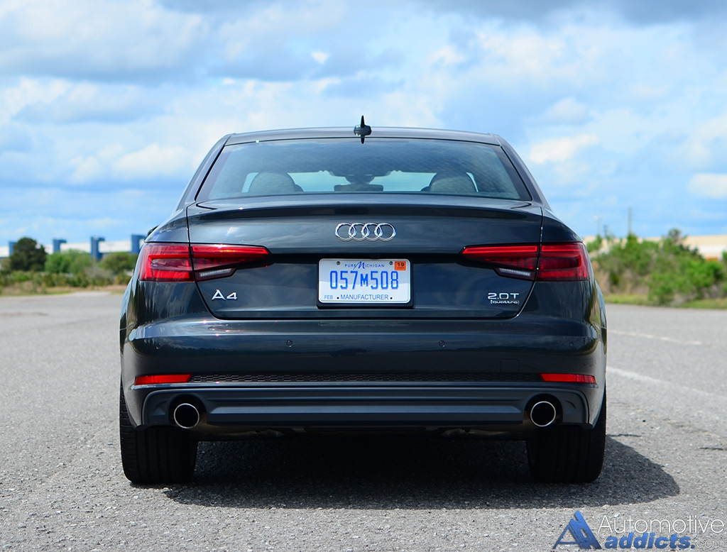 2017 audi a4 2 0t quattro review test drive the brand. Black Bedroom Furniture Sets. Home Design Ideas