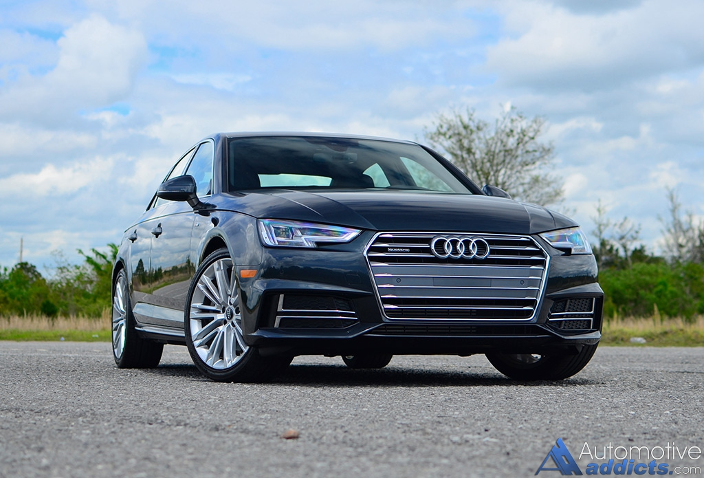 2017 audi a4 2 0t quattro review test drive the brand s staple gets better. Black Bedroom Furniture Sets. Home Design Ideas