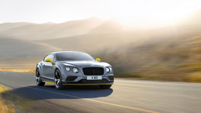 2017 Continental GT Speed & Black Edition Introduced as fastest Bentley yet
