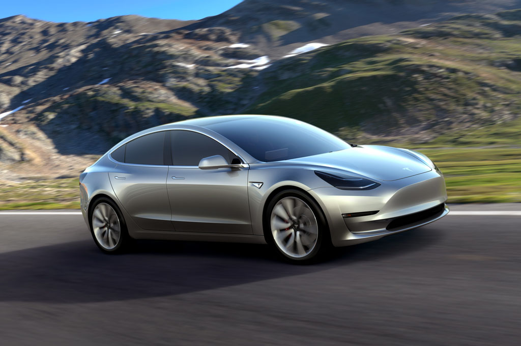 Bmw Mountain View >> Tesla Unveils Model 3 Promising $35,000 Starting Price