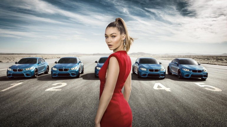Eyes on Gigi: BMW M2 Interactive Promo Challenges Fast