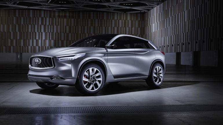 Infiniti QX Sport Concept Inspires Successor to QX70 Luxury Crossover