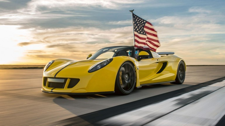 Video: Hennessey Venom GT Spyder Does 265 MPH Run for Fastest Convertible World Record