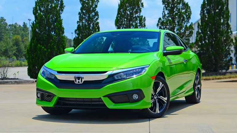 2016 Honda Civic Coupe Touring Review & Test Drive – Winning with Two Doors