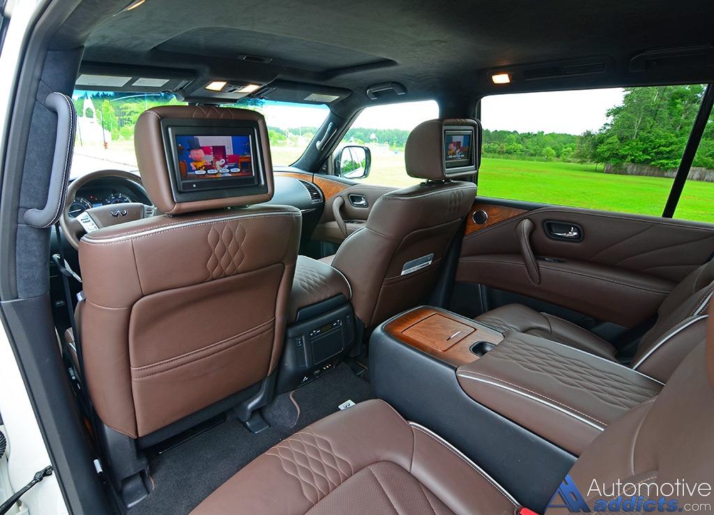 2016 Infiniti Qx80 Dashboard Cabin 2nd Row