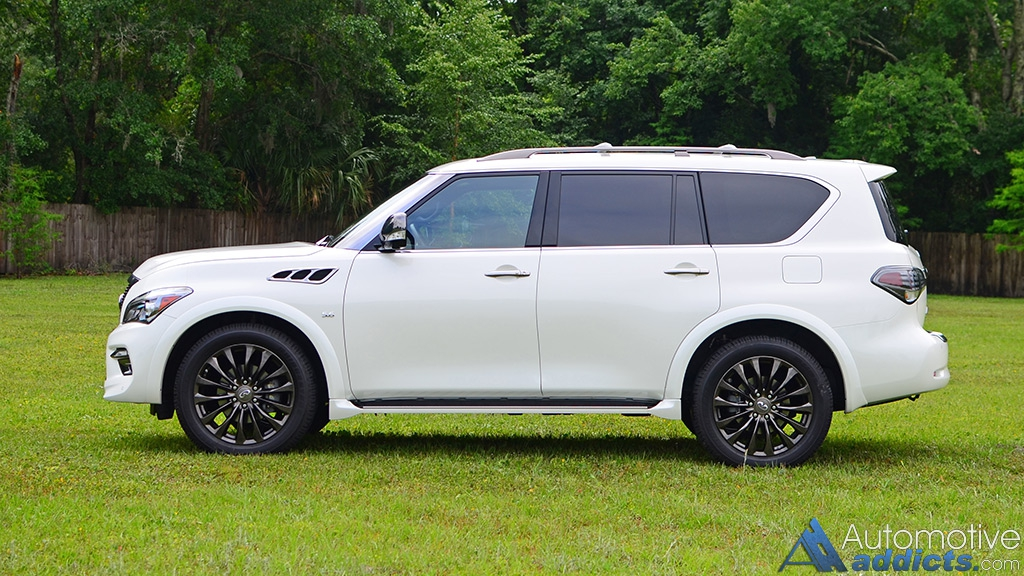 2016 infiniti qx80 awd limited review test drive the mammoth sized suv lives on. Black Bedroom Furniture Sets. Home Design Ideas