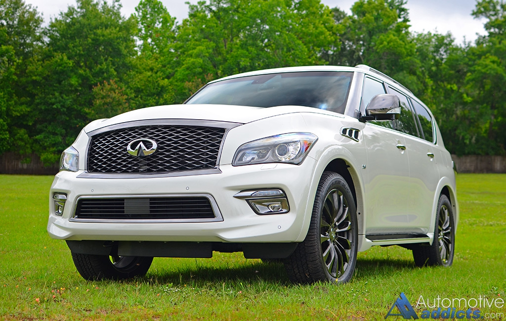 in our garage 2016 infiniti qx80 awd limited. Black Bedroom Furniture Sets. Home Design Ideas