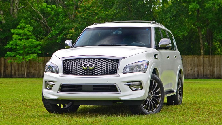 2016 Infiniti QX80 AWD Limited Review & Test Drive – The Mammoth-Sized SUV Lives On