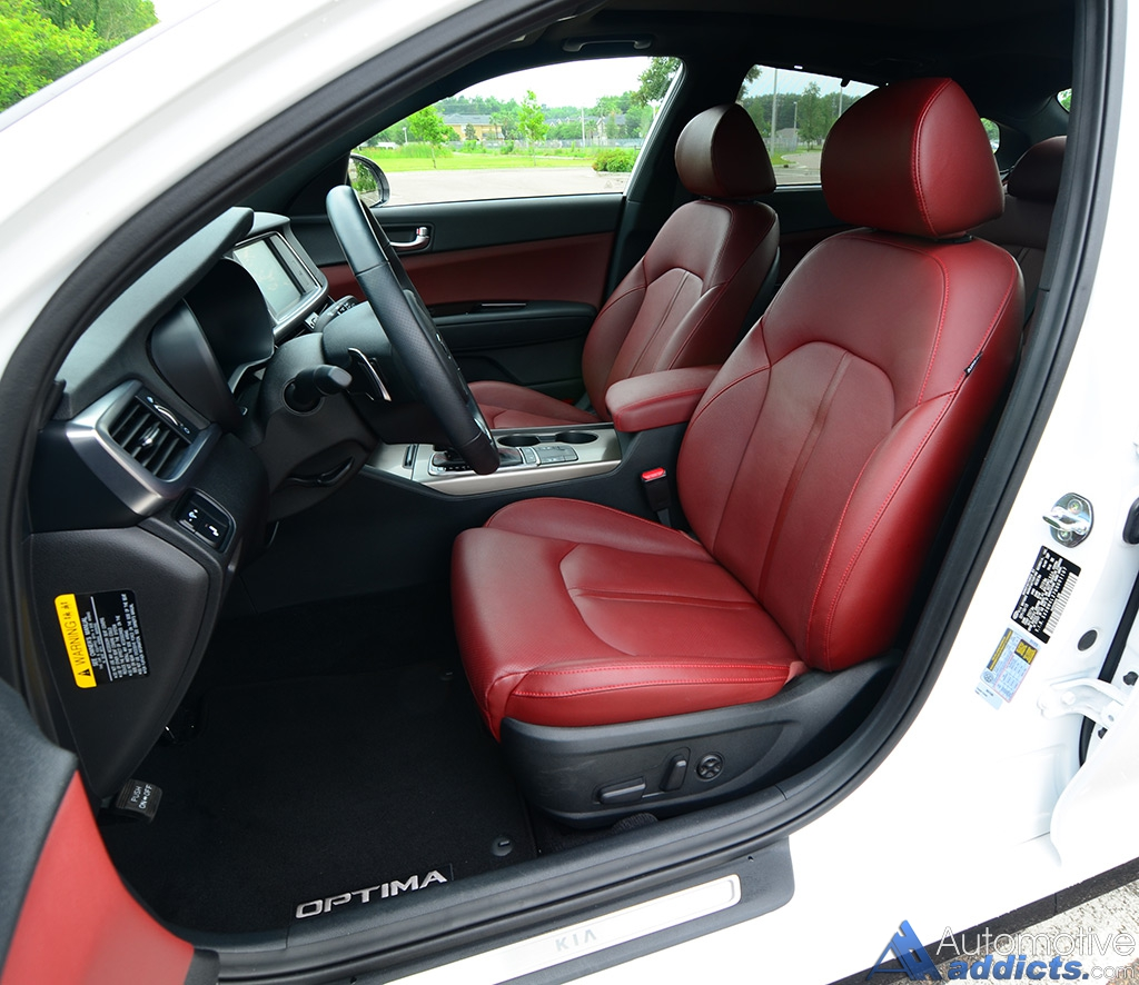 2016 Kia Optima Interior: 2016 Kia Optima SX Turbo Review & Test Drive