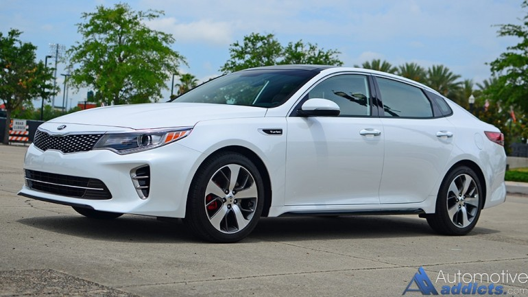 2016 Kia Optima SX Turbo Review & Test Drive
