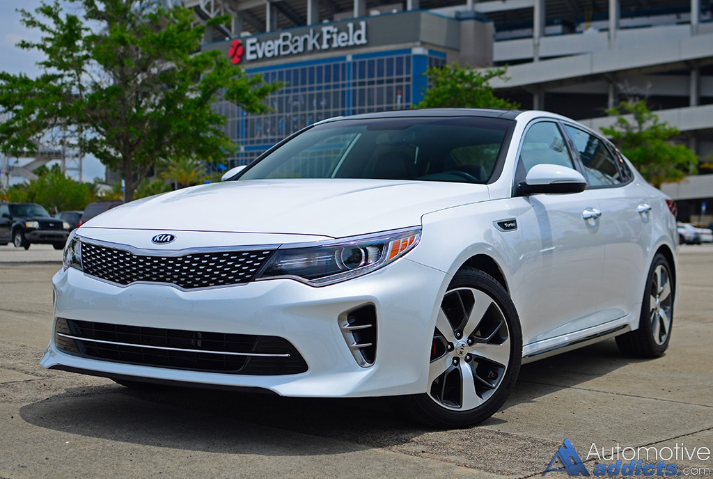 in our garage 2016 kia optima sx turbo. Black Bedroom Furniture Sets. Home Design Ideas