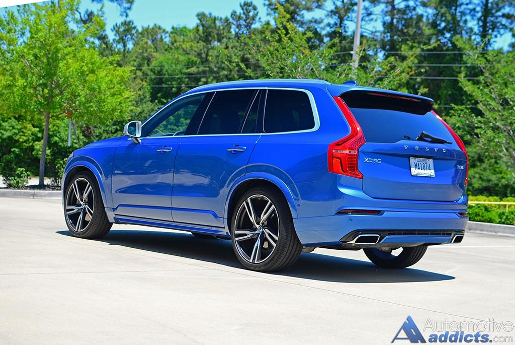 2016 Volvo Xc90 T6 Rdesign Rear Side