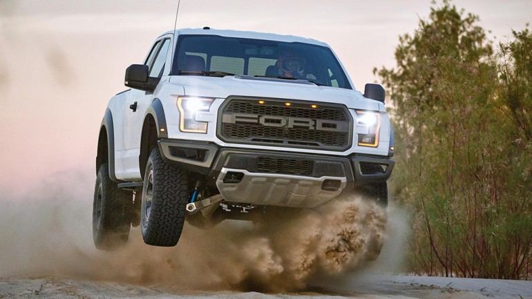 2017 Ford F-150 Raptor Touts being The Ultimate High-Performance Off-Road Pickup: Video