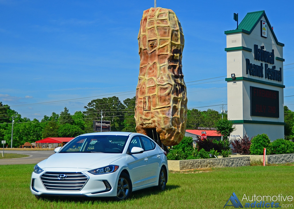 A Journey Home For Peanuts In The New 2017 Hyundai Elantra
