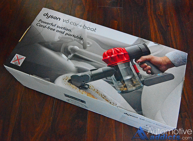 review dysonu0027s new v6 carboat handheld vacuum is a compelling package for automotive addicts - Dyson Handheld Vacuum