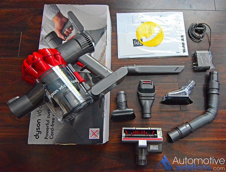 Review Dyson S New V6 Car Boat Handheld Vacuum Is A