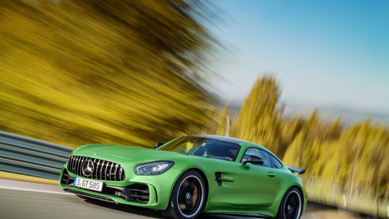 "New Mercedes-AMG GT R is Pure ""Green Hell"""