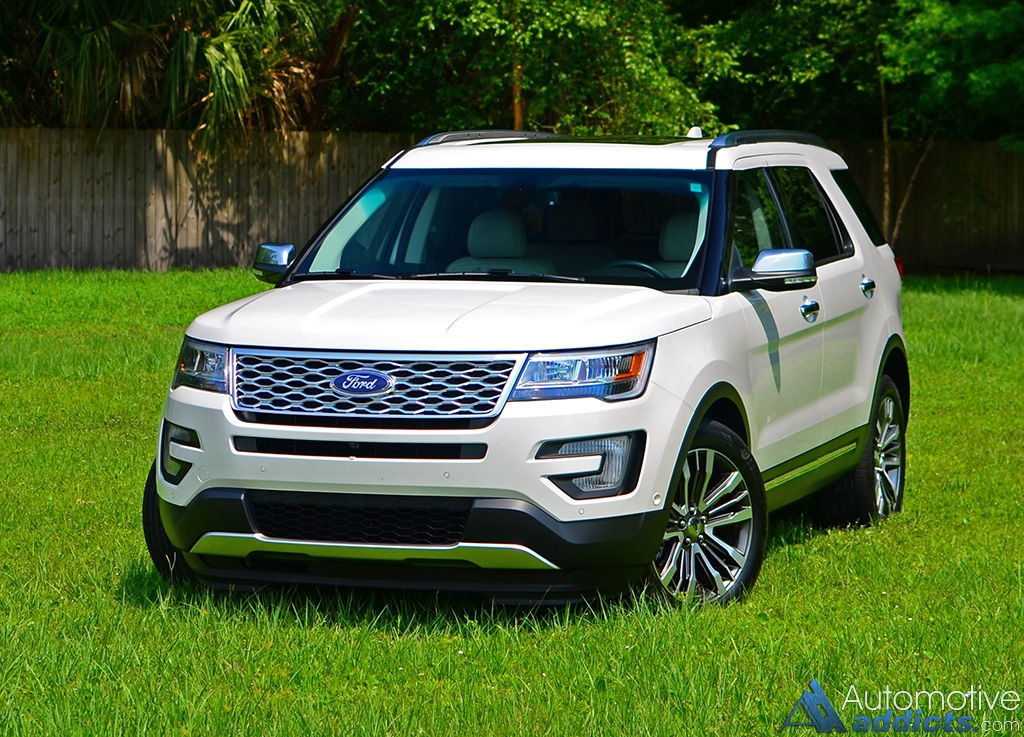 2016 ford explorer platinum awd review test drive. Black Bedroom Furniture Sets. Home Design Ideas