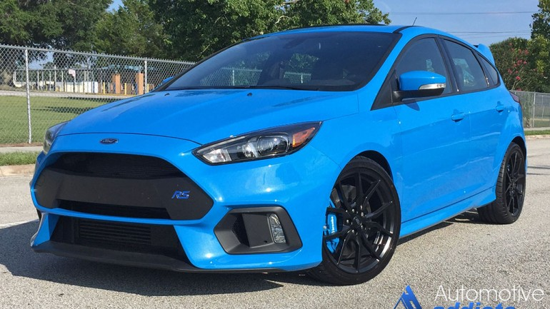 A Quick Spin Test-Drive-Review in the 2016 Ford Focus RS