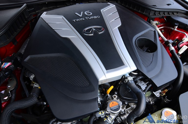 2016-infiniti-q50s-red-sport-400-front-twin-turbo-v6-engine