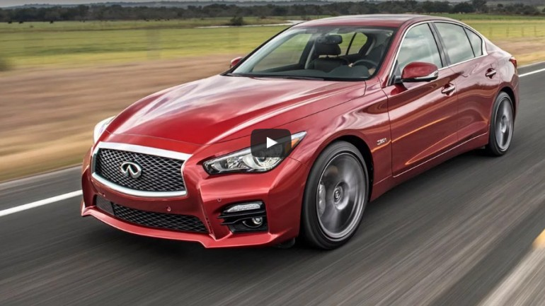 Motor Trend Agrees with our sentiments on Infiniti Q50 Red Sport 400: Ignition Video