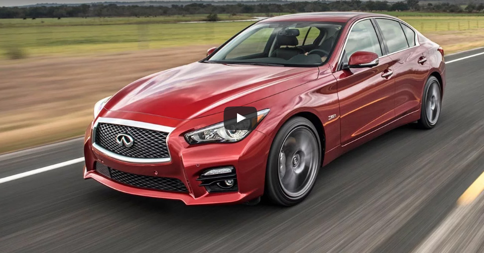 Motor Trend Agrees With Our Sentiments On Infiniti Q50 Red Sport 400 Ignition Video