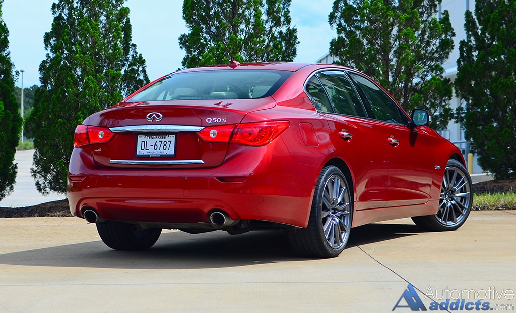 In Our Garage: 2016 Infiniti Q50 Red Sport 400