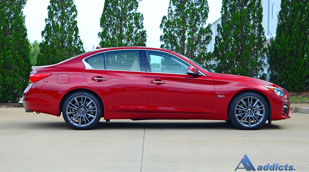 2016 infiniti q50 red sport 400 review test drive inspired performance forthcoming. Black Bedroom Furniture Sets. Home Design Ideas