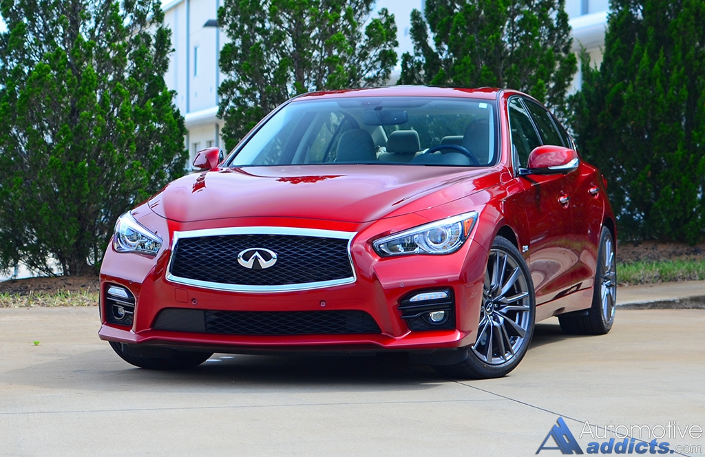 in our garage 2016 infiniti q50 red sport 400. Black Bedroom Furniture Sets. Home Design Ideas