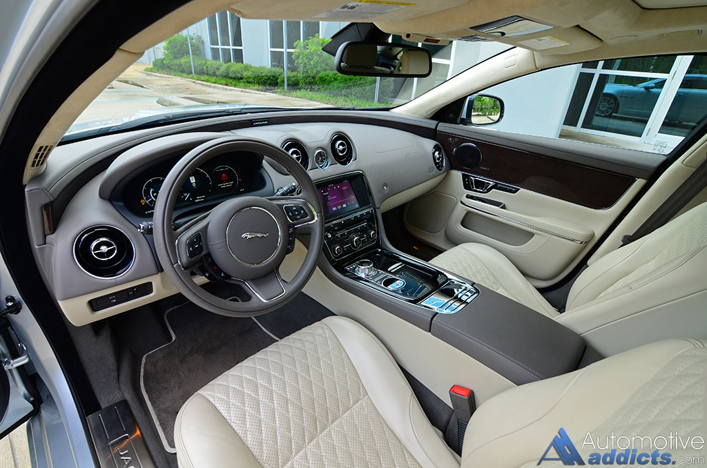 2016 Jaguar Xjl Supercharged Dashboard