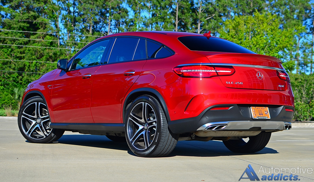 2016 Mercedes Benz Gle450 Amg Coupe Review Test Drive