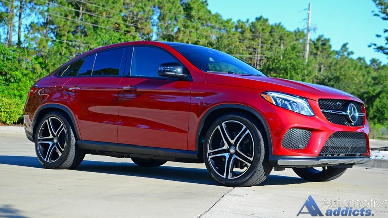 2016 Mercedes-Benz GLE450 AMG Coupe Review & Test Drive