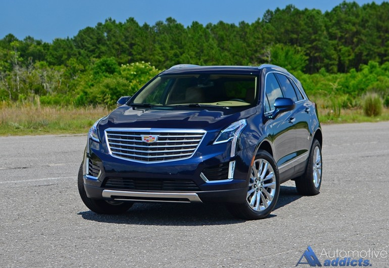 in our garage 2017 cadillac xt5 platinum awd. Black Bedroom Furniture Sets. Home Design Ideas