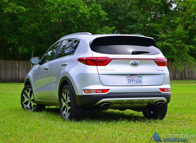 2017 kia sportage sx turbo awd review test drive a higher level of maturity. Black Bedroom Furniture Sets. Home Design Ideas