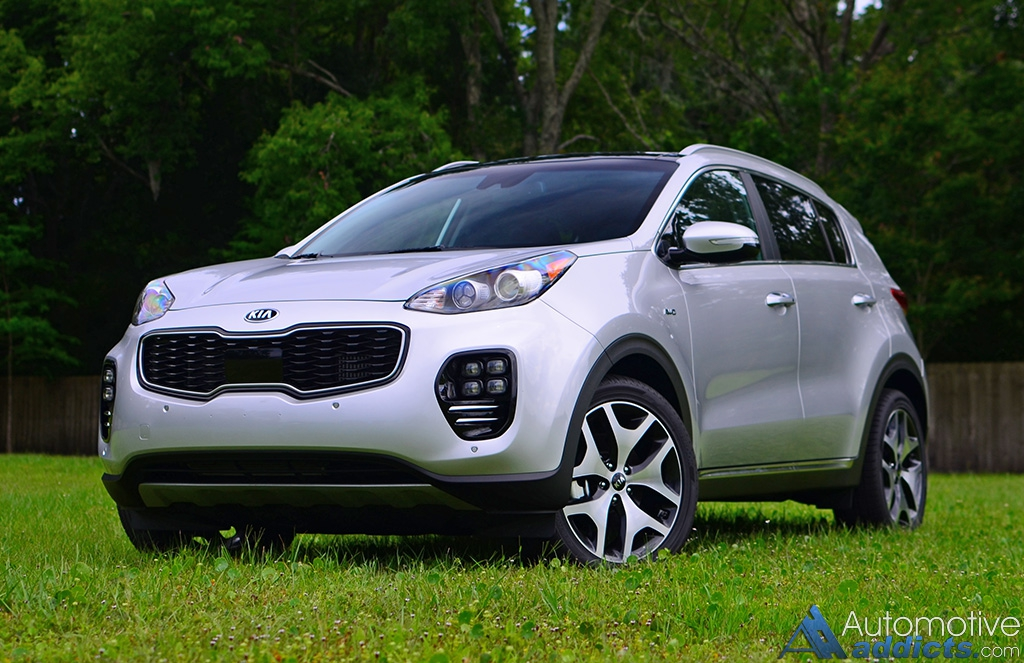 2017 Kia Sportage Sx Turbo Awd Review Test Drive A Higher Level Of Maturity