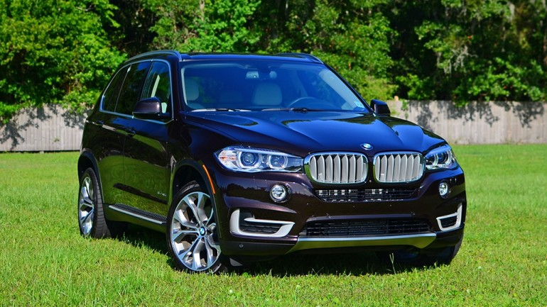 2016 BMW X5 xDrive40e Plug-In Hybrid Review & Test Drive