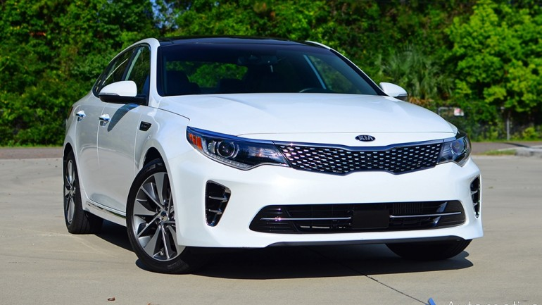 2016 Kia Optima SXL (SX Limited) Quick Spin