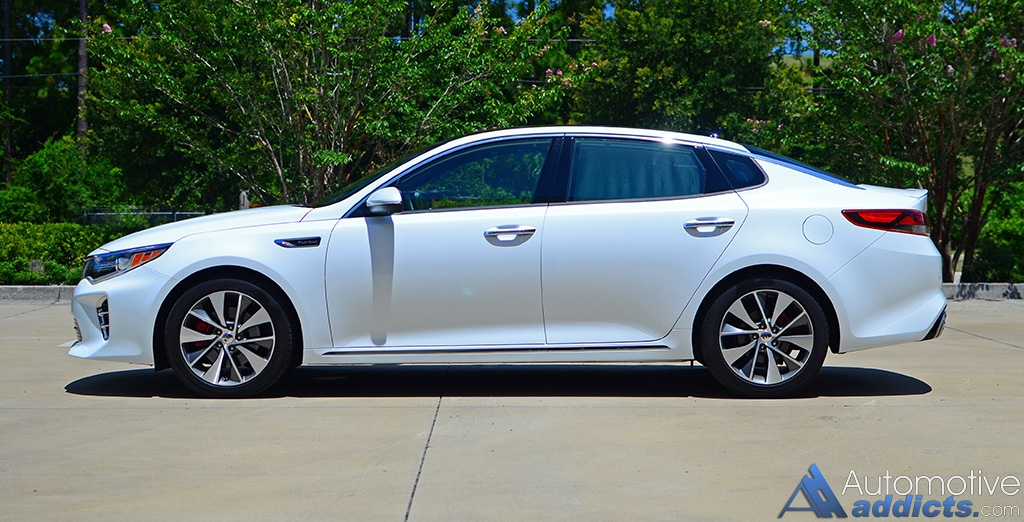 2016 Kia Optima Sxl Limited Side