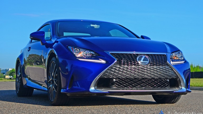 2016 Lexus RC 200t F-Sport Review & Test Drive